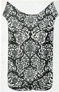 Spanish Chasuble back (Fabric Textile Museum of Lyons)